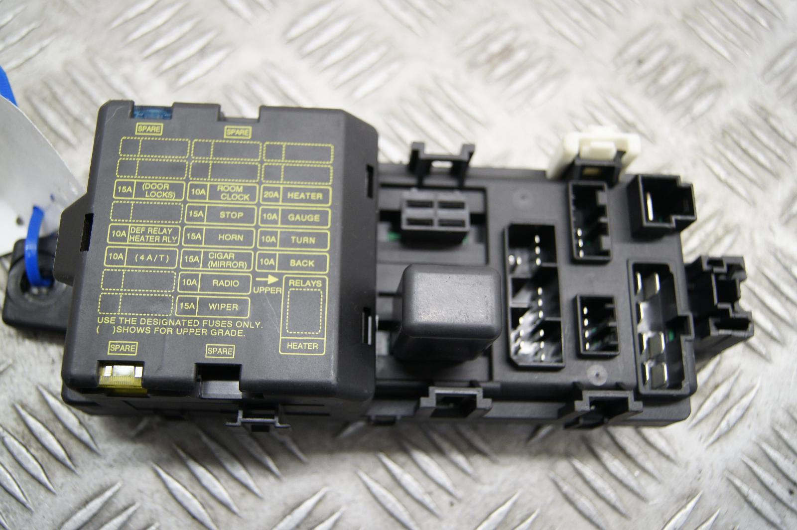 proton satria 1 5 petrol interior fuse box part number 02076m ak 145636 145634
