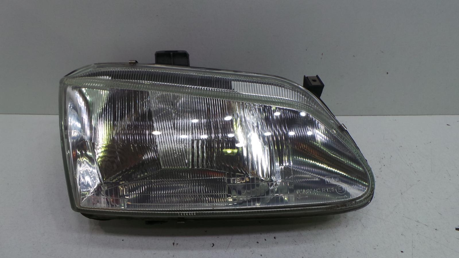 how to change a renault scenic headlight bulb