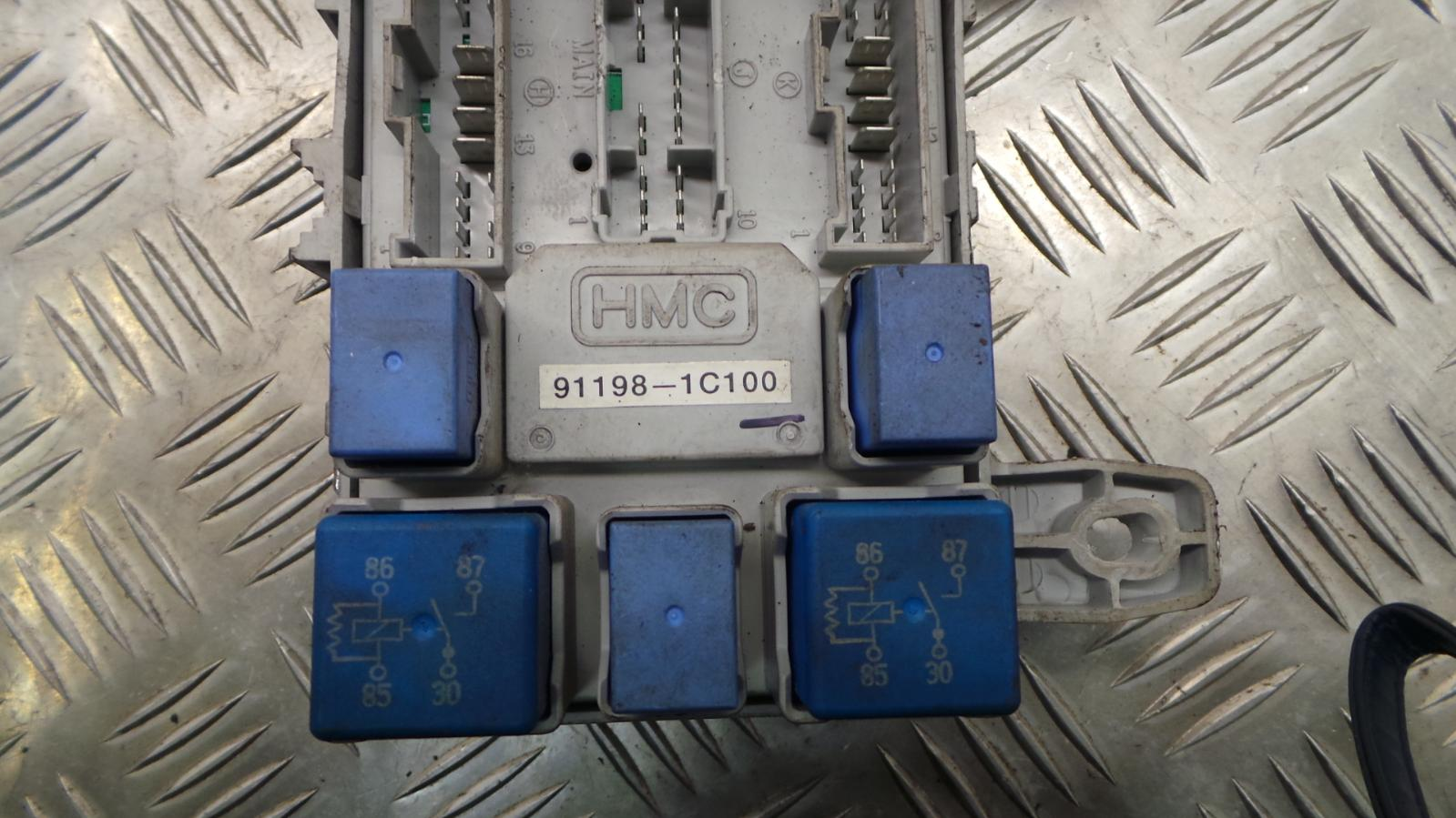 2003 Hyundai Getz 13 Petrol Manual Ignition Kit Engine Ecu Fuse Box Astra Gsi 5 Of 12