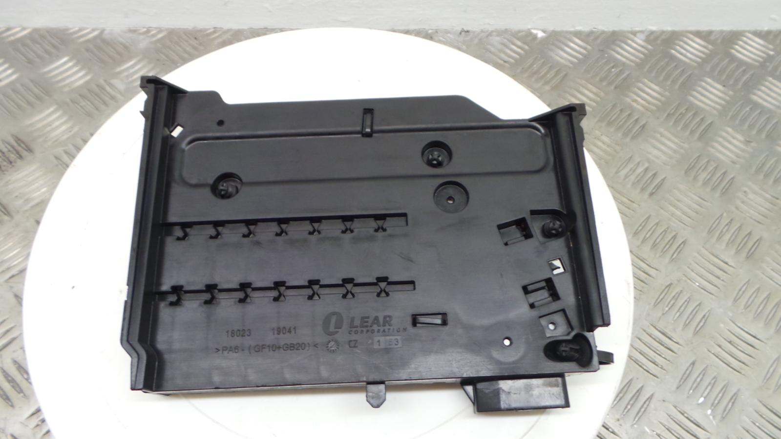 2011 Ford Focus Mk3 1 6 Tdci Battery Fuse Box