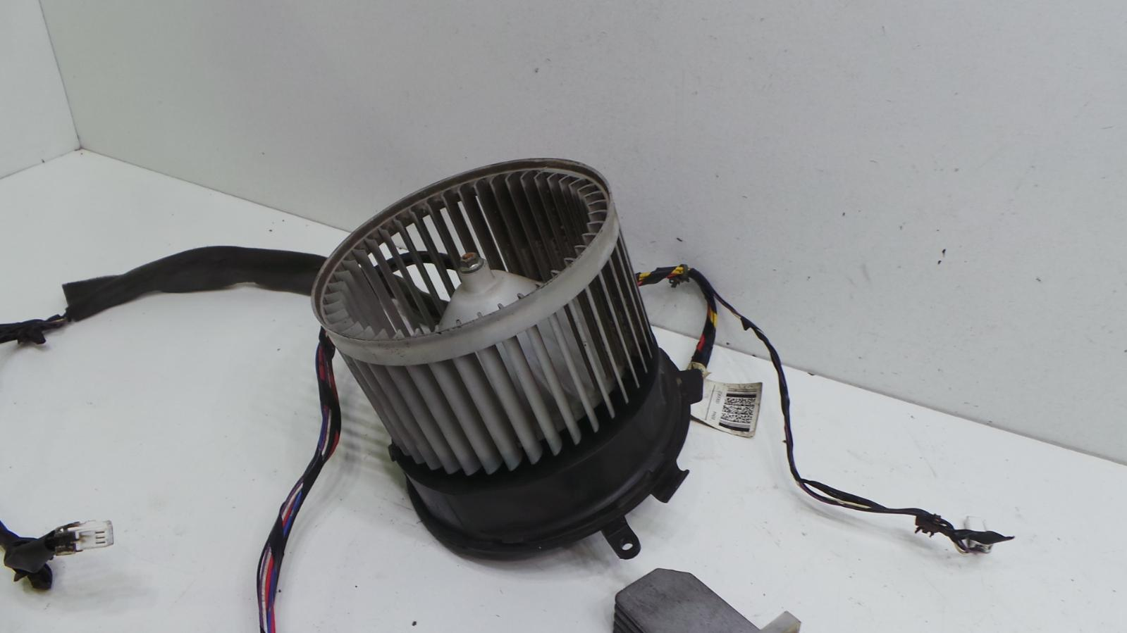 2009 nissan qashqai heater blower motor fan resistor