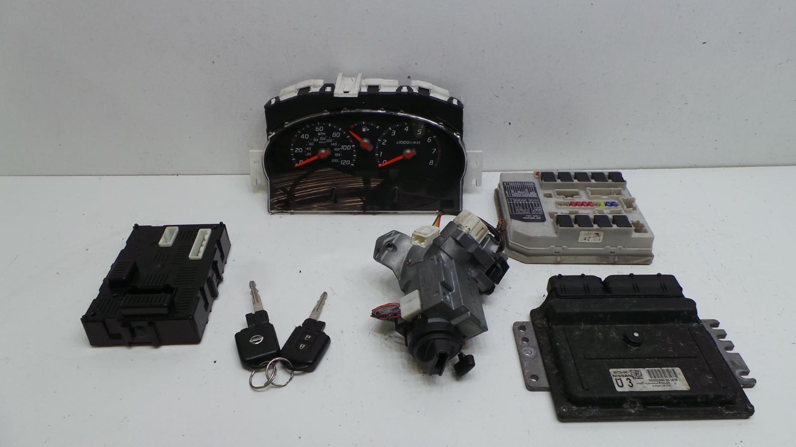 2003 nissan micra k12 1 2 petrol engien ecu ignition key. Black Bedroom Furniture Sets. Home Design Ideas