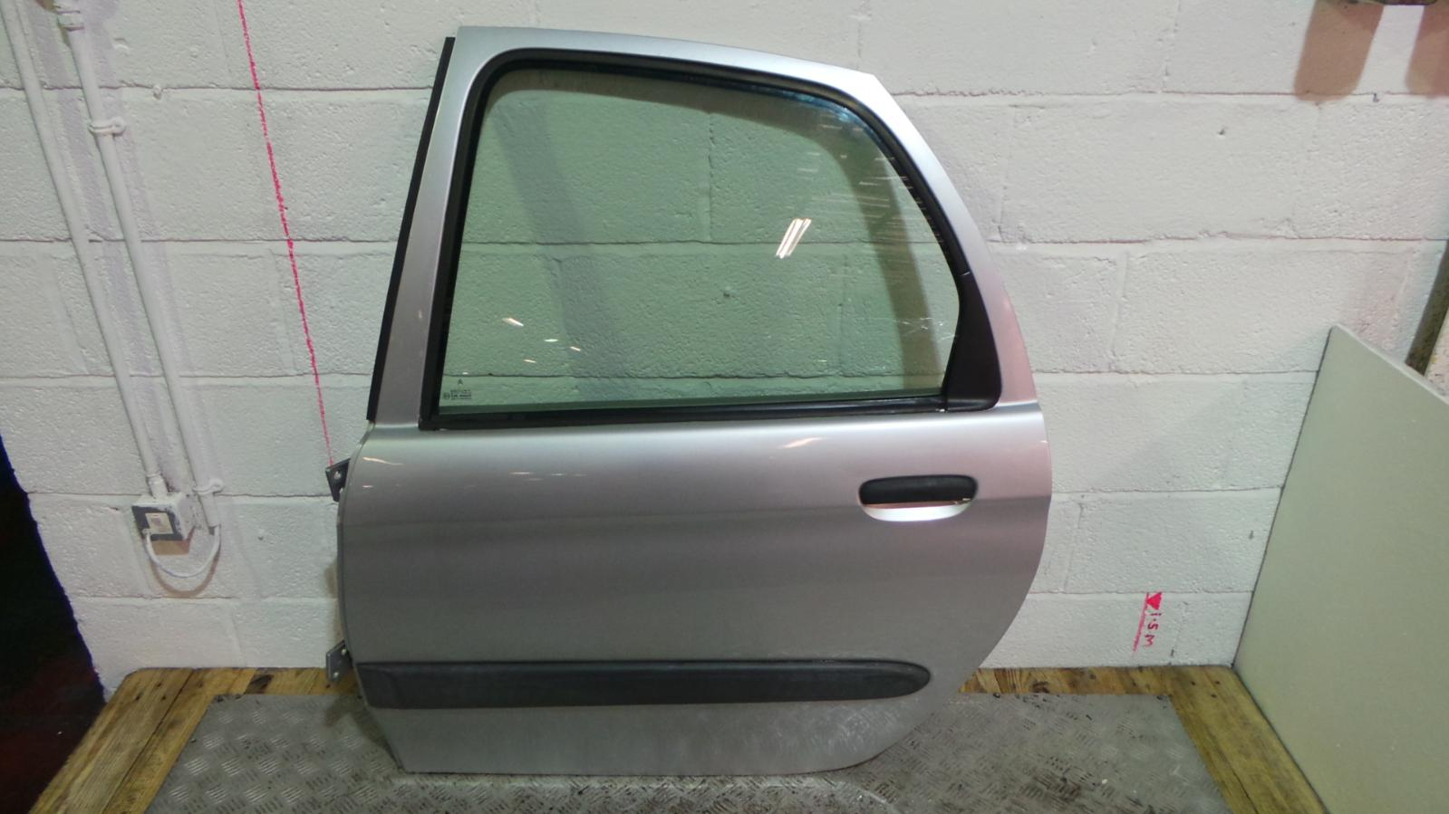 2001 Citroen Xsara Picasso Left Passenger Silver Rear Door