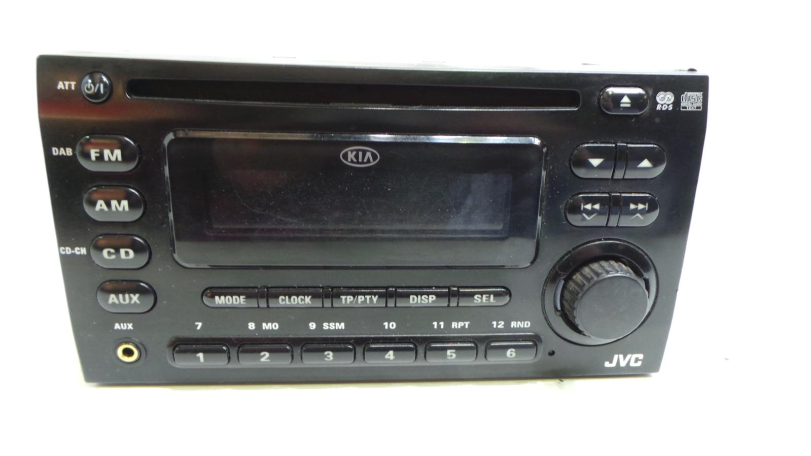 2007 kia sportage mk2 genuine cd player radio stereo kw ... wiring diagram for kia rio radio wiring diagram for kia cd player a02021a