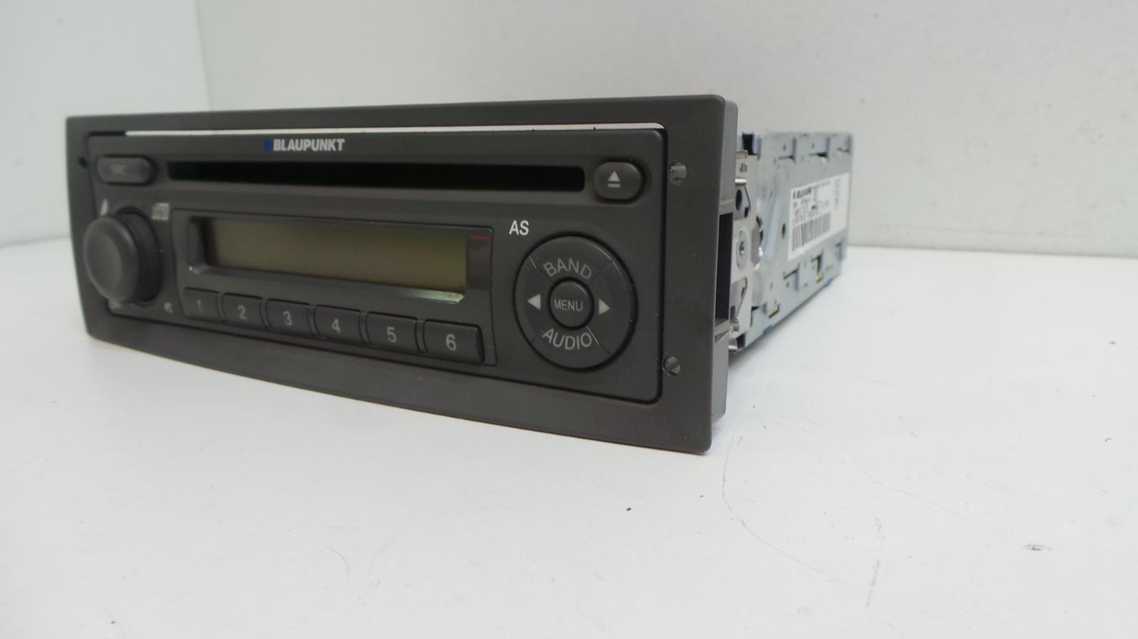 2009 fiat punto mk2 blaupunkt cd player radio stereo. Black Bedroom Furniture Sets. Home Design Ideas